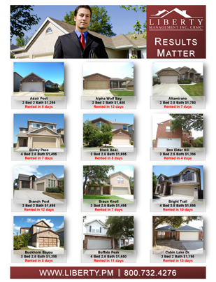 Results Matter, Cedar Hill's Property Management Company